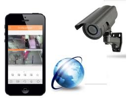 Комплект видеонаблюдения для дома удаленная запись